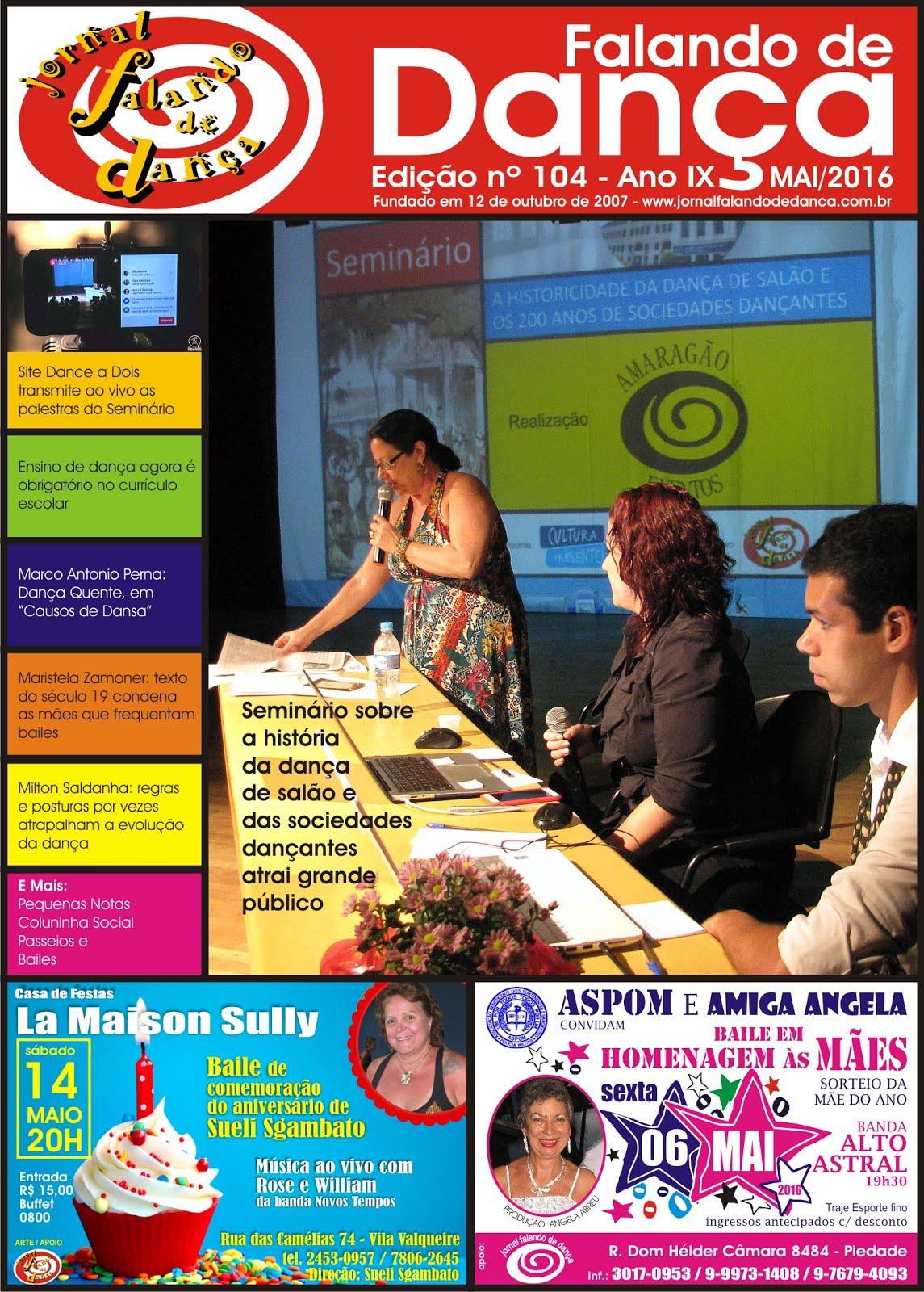Leia on line a ed 104 (Maio/2016)
