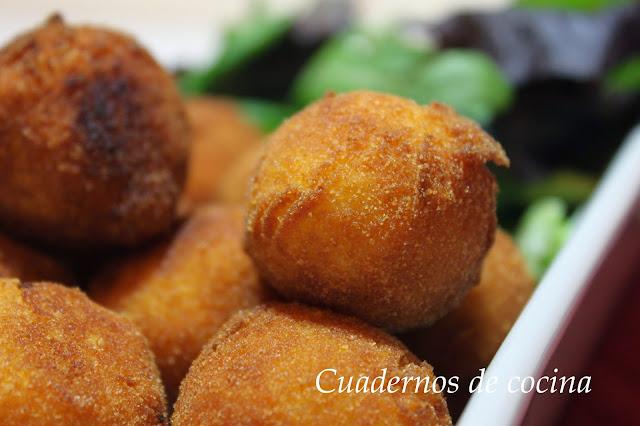 Cuadernos de cocina bolitas de patata y pescado - Lenguado al microondas ...
