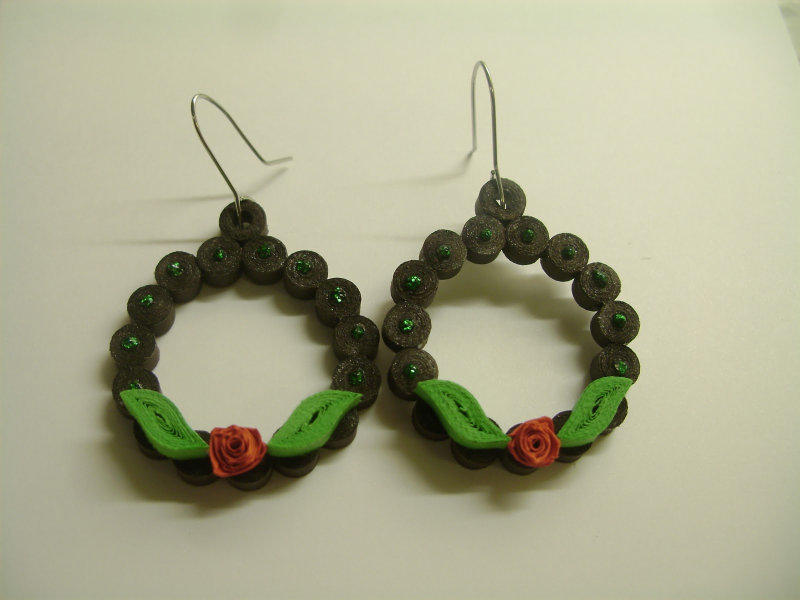 Quilling Earrings Designs Images : Quilling Me Softly: Quilled earrings