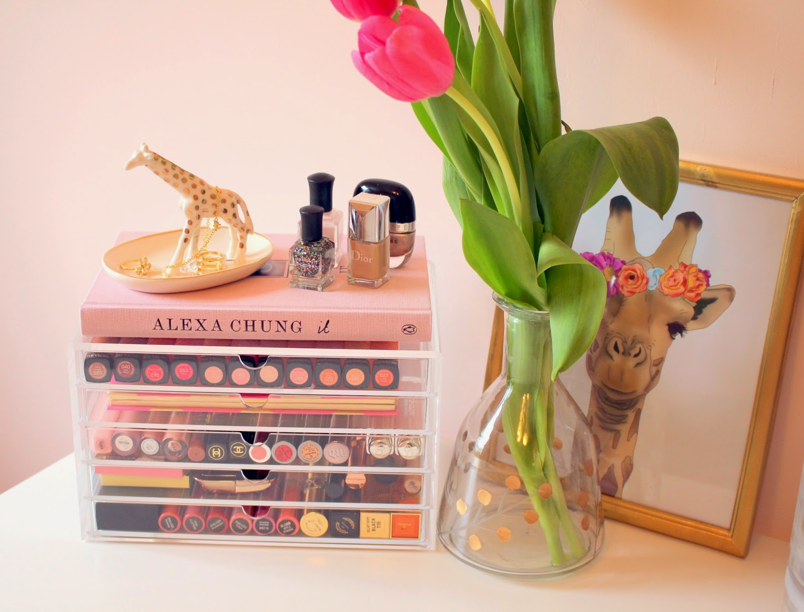Make up collection beauty collection muji acrylic drawers giveaway