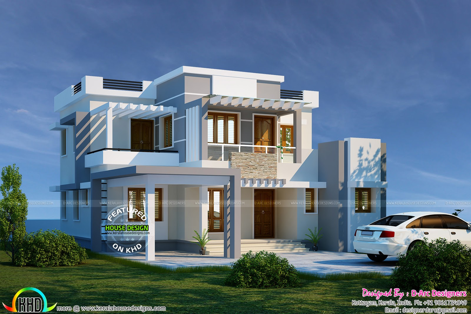 November 2015 kerala home design and floor plans for Best architecture houses