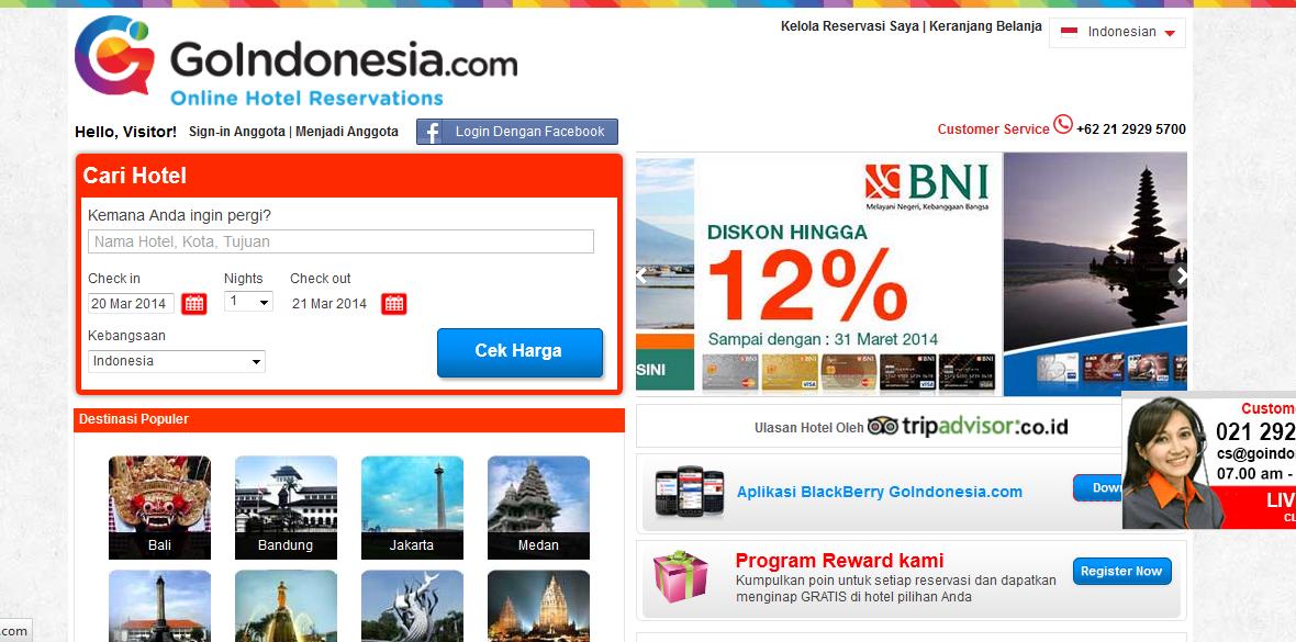 Mau Rekreasi ke Jakarta? Cari & Temukan Hotel Murah di Jakarta