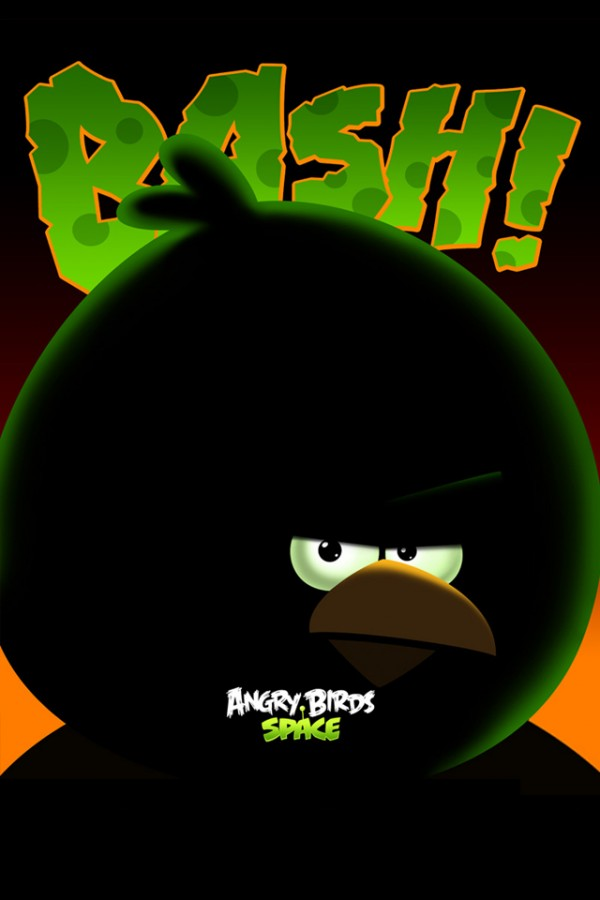 Angry Birds Space Big Brother Bird iPhone Wallpaper
