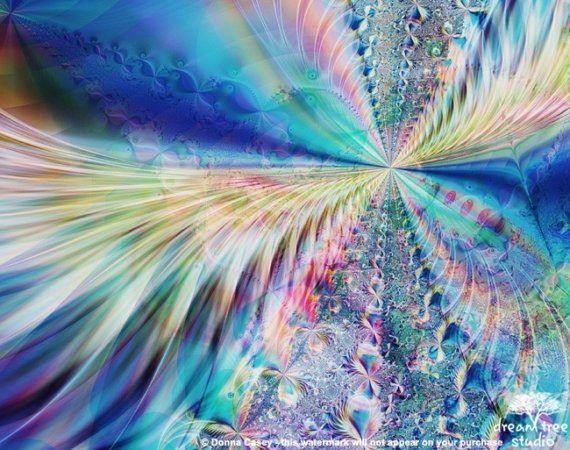 dreamy fractals abstract trippy - photo #27