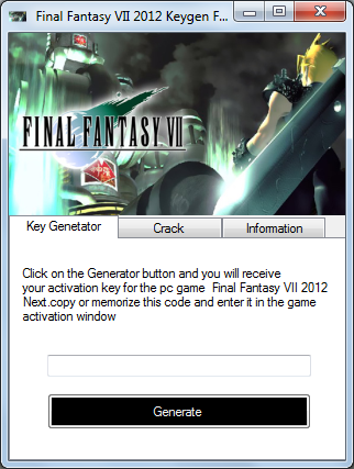 Final Fantasy VII 2012 Crack, Keygen, Serial Number - Видео Dailymotion.