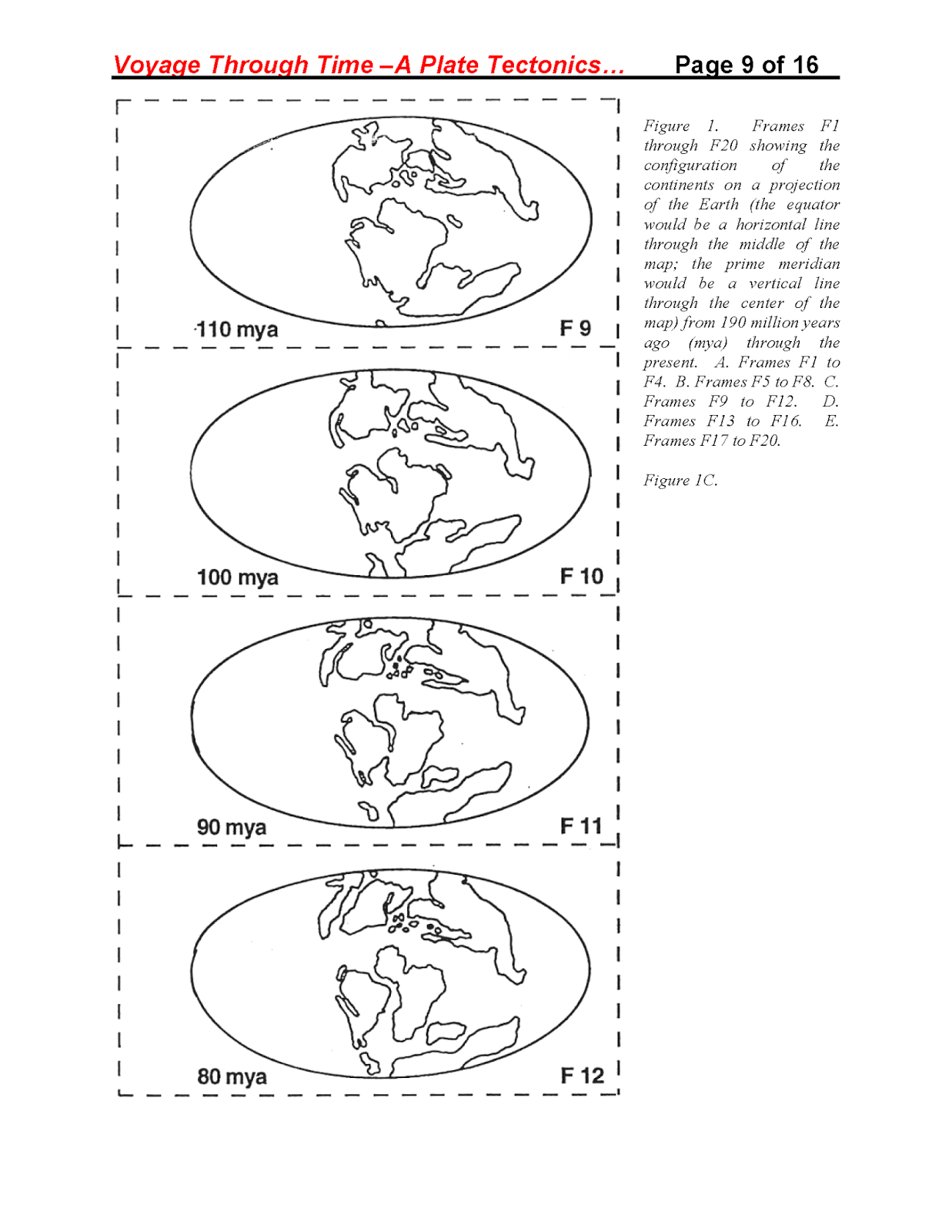 Miss durant 39 s science class week 26 es chapter 8 for Plate tectonics coloring pages