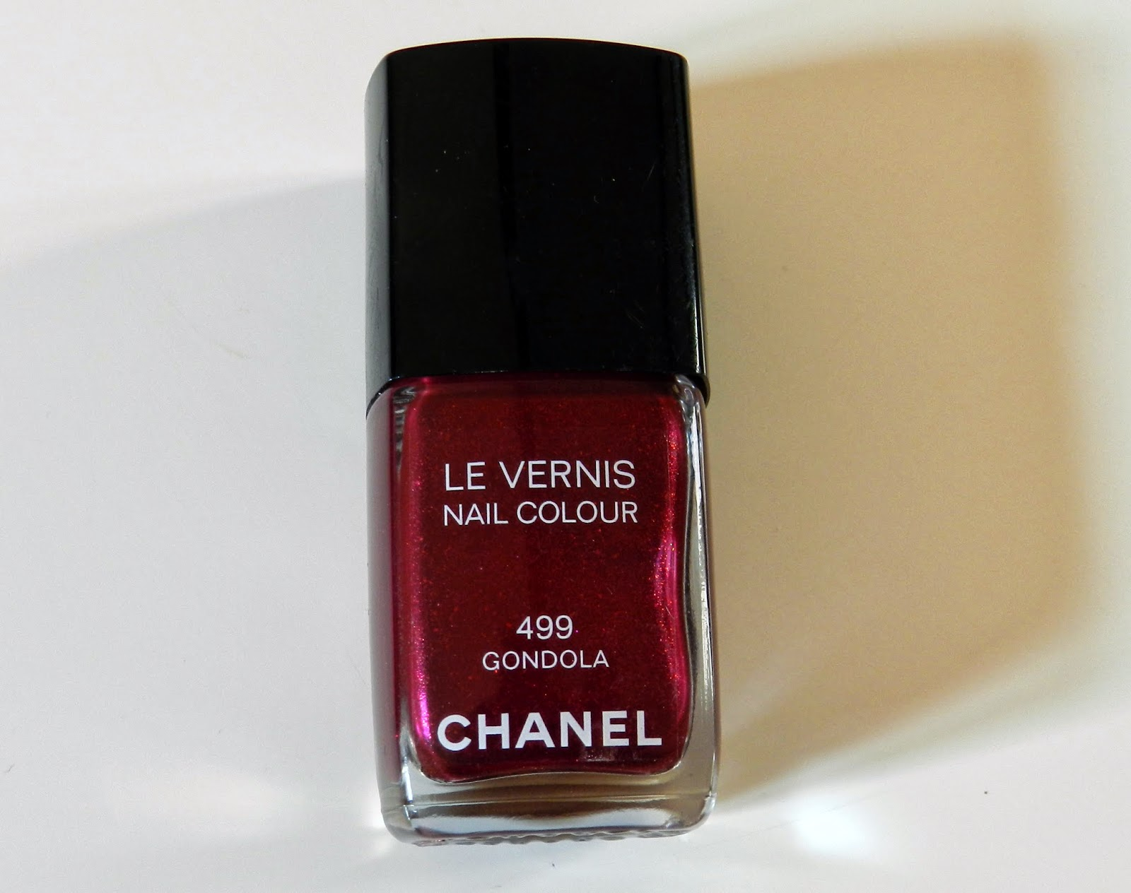 Chanel Nail Polish Gondola 499
