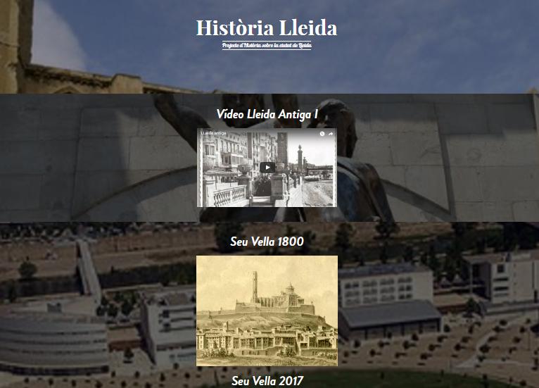WEB HISTÒRIA - LLEIDA S. XIX-XX
