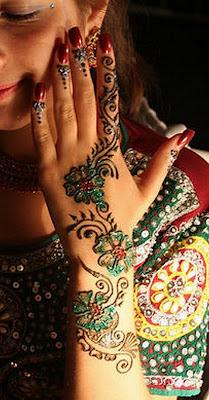 New Eid Mehndi Styles Pictures