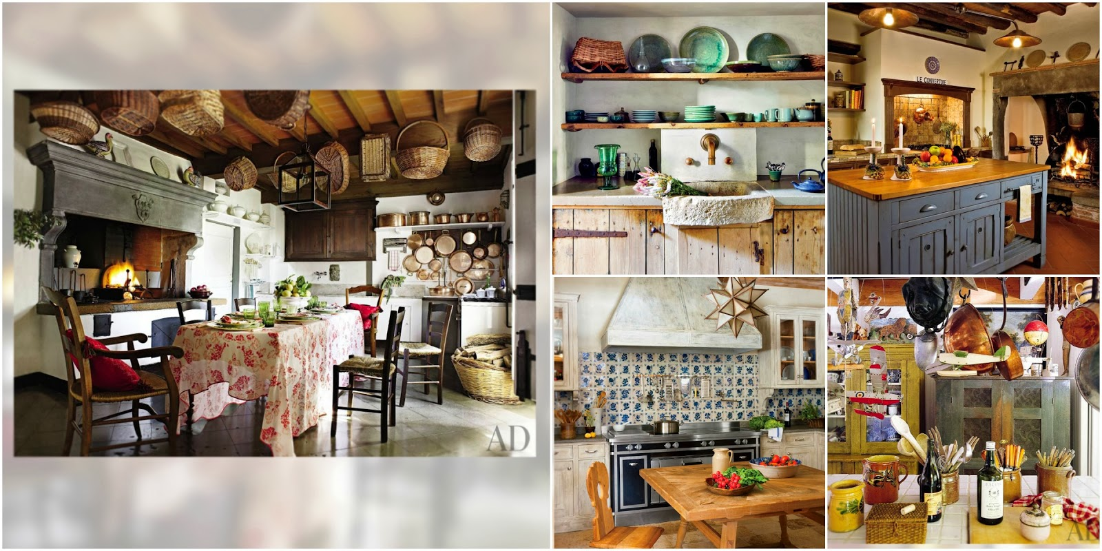 Best of 2013, Cocinas Rústicas, Kitchen, Cottage, Rustic