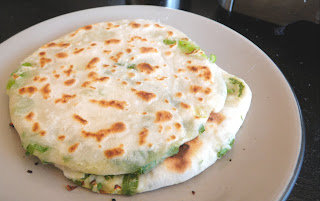 Scallion Pancakes aka Green Onion Pancakes