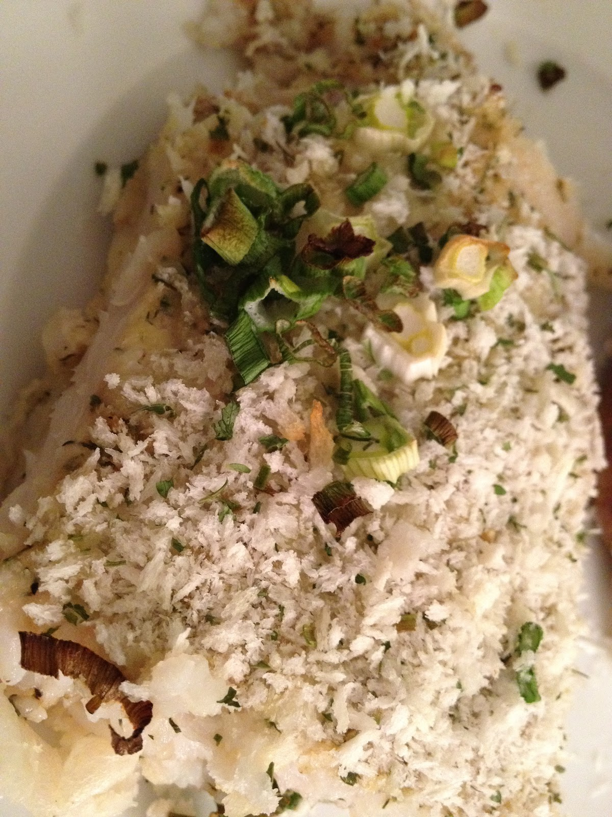 Scott 39 s cooking recommendations my baked white fish with for Baked white fish
