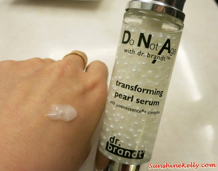 Do Not Age with Dr. Brandt Skincare Range, dr brandt, Do Not Age with Dr. Brandt, DNA Dr Brandt, Transforming Pearl Serum, Time Reversing Cream, triple peptide eye cream, firming neck cream, anti aging skincare