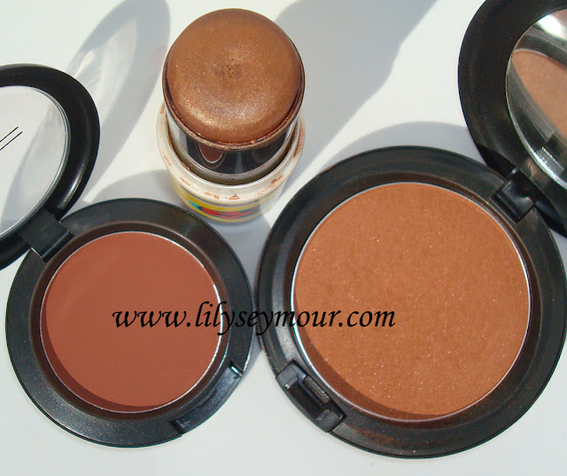 Mac Guilty  Bronze Copper Cheeks for Fall