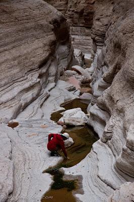 Kelly Bergdolt in Olo Canyon, Grand Canyon Colorado, Chris Baer