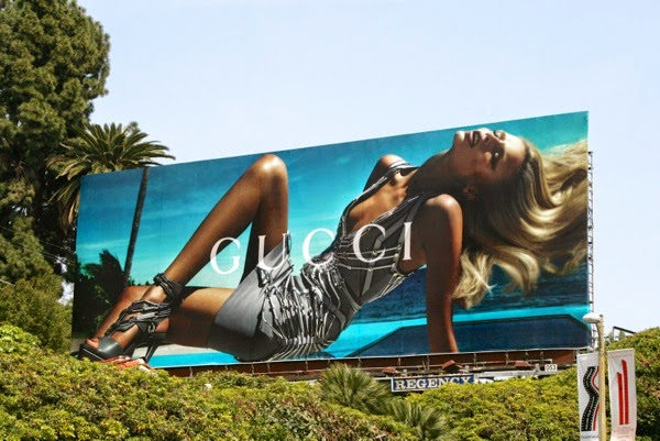 Gucci Natasha Poly Spring 2010 billboard