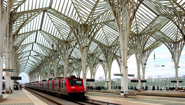 Estaçao Gare Oriente Lisboa