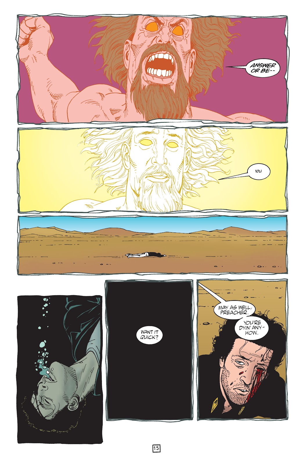 Preacher Issue #49 #58 - English 16