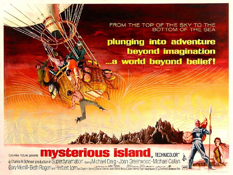 A Vintage Nerd, Vintage Blog, Old Hollywood Blog, Classic Film Blog, Mysterious Island