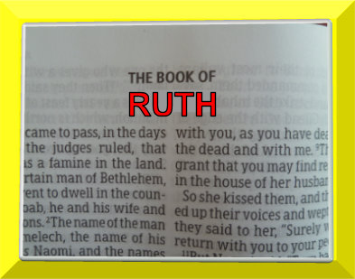 book of ruth bible summary