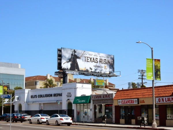 Texas Rising miniseries billboard