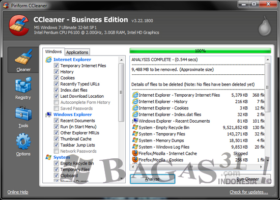 CCleaner 3.22 Business Edition Full Patch 2