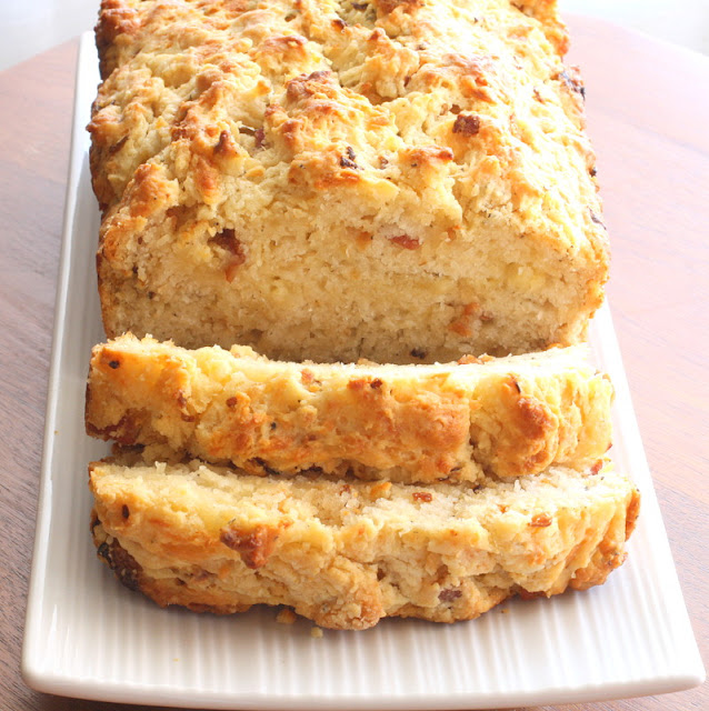 ... Something For the Oven: Cheddar Bacon and Onion Quick Beer Bread