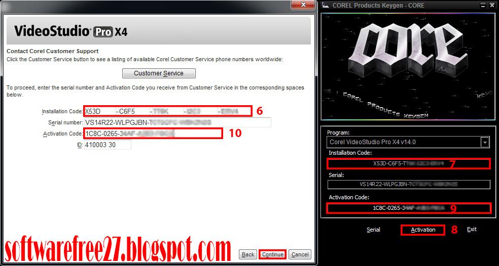 corel videostudio pro x7 keygen 32 64 bit free download