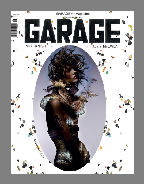Karlie Kloss by Nick Knight for Garage Magazine No.6