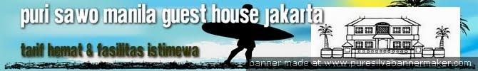 PURI SAWO MANILA  Residences Penginapan |Guest House Murah Di jakarta selatan