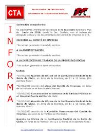 C.T.A. INFORMA, LO REALIZADO EN JUNIO DE 2020