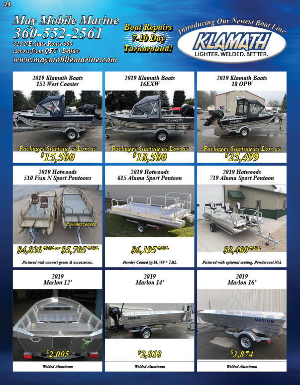 May Mobile Marine New Boats Sale!!