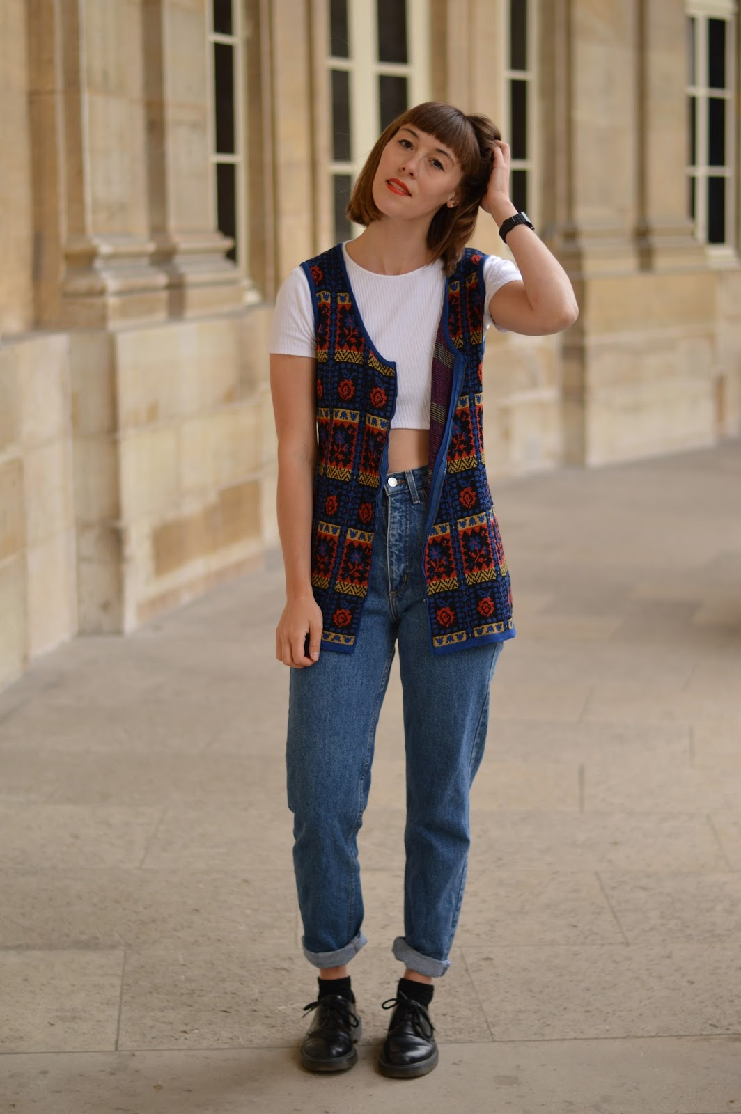 How to wear/style a wool gilet