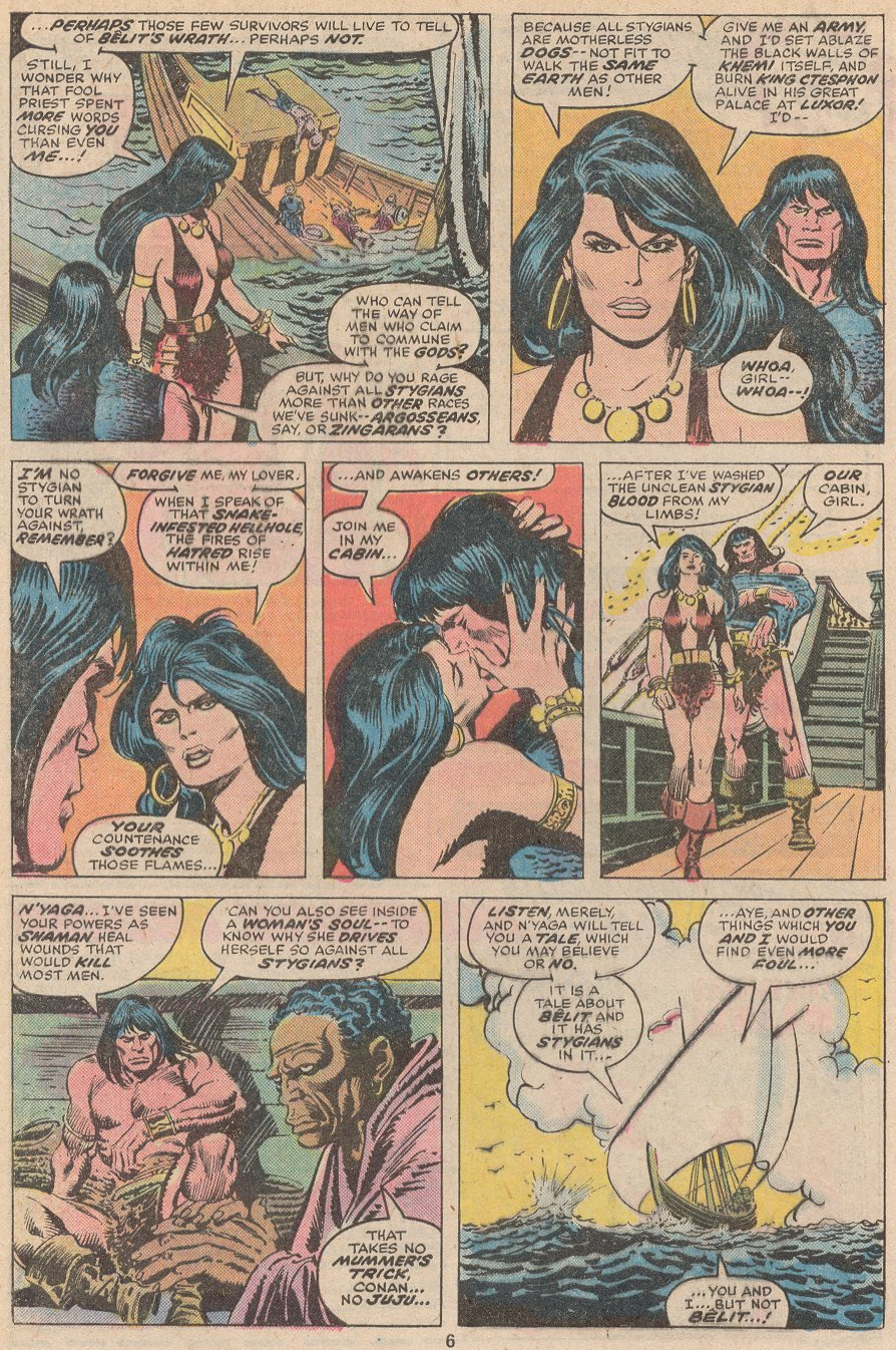 Conan the Barbarian (1970) Issue #59 #71 - English 5