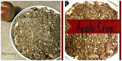 How to bake Apple Crisp