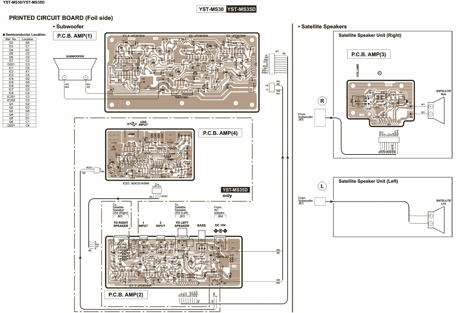 Yamaha Schematic Diagram 24 Wiring Diagram Images