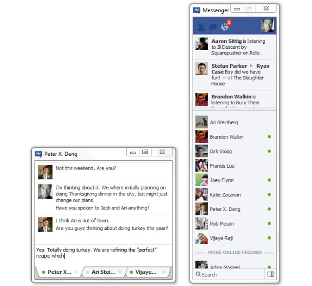 Download Facebook Chat portable Windows