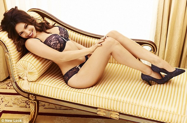 Kelly Brook – 2012 New Look Lingerie Photoshoot (MQ)