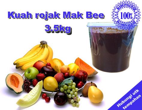 Kuah Rojak Mak Bee 3.5kg
