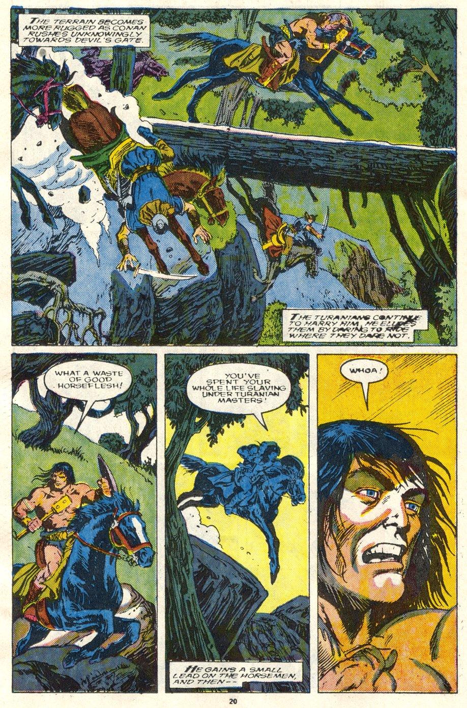 Conan the Barbarian (1970) Issue #219 #231 - English 17
