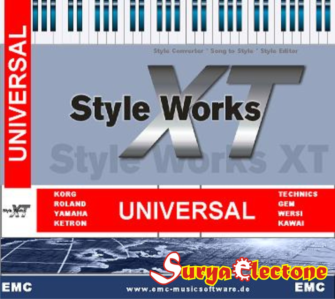 Style works xt universal version 376 serial