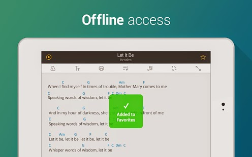 Ultimate Guitar Tabs & Chords v3.7.0 [Unlocked] Apk Android