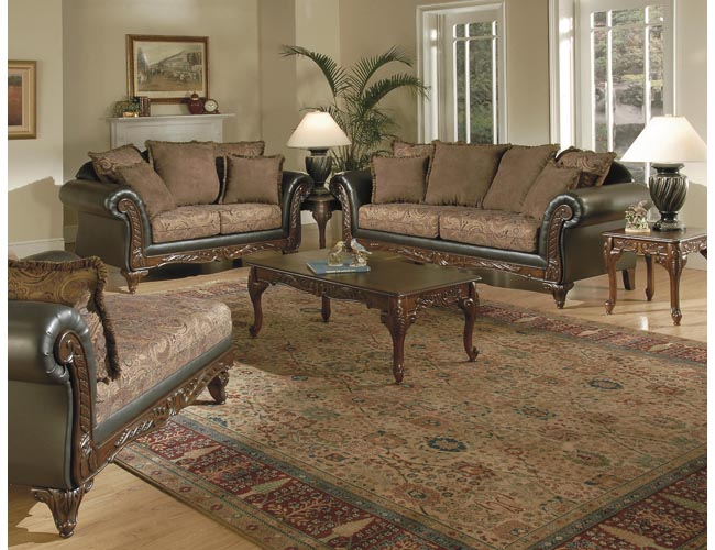 Traditional Living Room Furniture 650 x 500