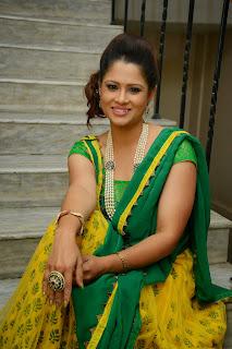 Anchor Shilpa Chakravarthy Latest Pictures at Taruvatha Katha Movie Trailer Launch  27.JPG
