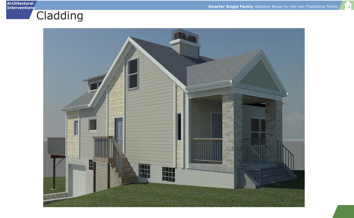 Smarter Single Family Exterior Cladding