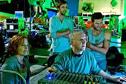 Pelakon-pelakon Avatar dan James Cameron