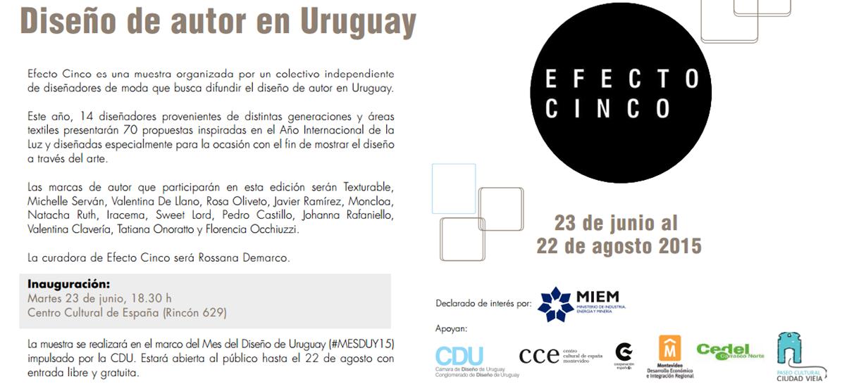 P C C V / Paseo Cultural de Ciudad Vieja: EFECTO 5 / 3a. Edición