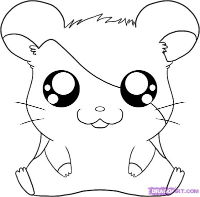 How To Draw Cute Baby Animals Coloring Pages