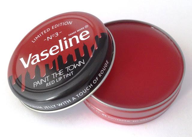 Vaseline tinted lip balm