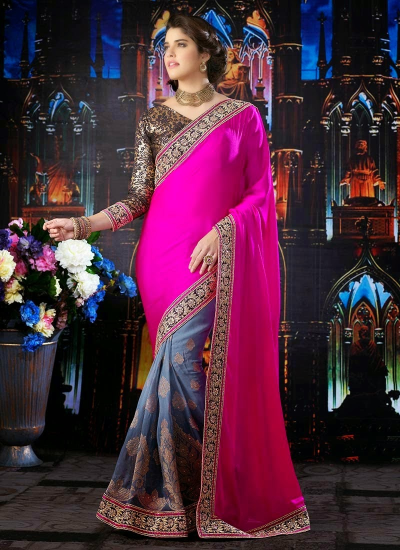 Most Beautifull party wear sarees for Women
